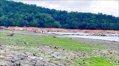 梅雨失約 日月潭水庫進水減至4噸