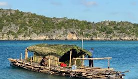 Ocean crossing of Stone Age people to Australia set to be reenacted on ancient bamboo raft replica