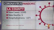 LA County Reports 3,045 New Cases Of COVID-19 And 5 Additional Deaths