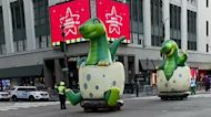 Dinosaurs Spotted on 34th Street Ahead of Thanksgiving Day Parade