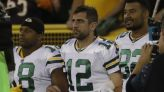 Aaron Rodgers doesn't mention Drew Brees by name, but his Instagram post sent strong message