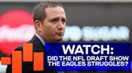 Did the Eagles Draft Night Exchange Highlight Internal Struggles?