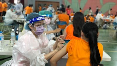 中市疫苗接種率突破50%