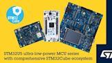 意法半導體擴大STM32生態系統 加速STM32U5極低功耗微控制器的應用開發