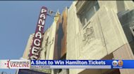 City To Giveaway Hamilton And Lakers Tickets For First Vaccine