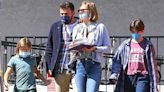 Ben Affleck Takes His 3 Kids Out For A Lunch Date In LA After His Met Gala Kiss With J.Lo