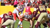 Chiefs find consistency in third-down conversions against Washington in Week 6