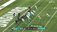Every catch from Jaylen Waddle's 2-TD game Week 6