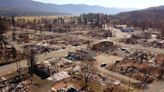 Nothing but ash and debris remain of this California town