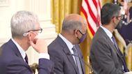 Biden hosts Big Tech CEOs to talk cyber threats