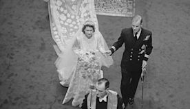 The Queen's iconic royal wedding dress is every modern bride's dream