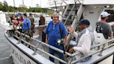 Veterans find fun and solace on Niantic fishing trip