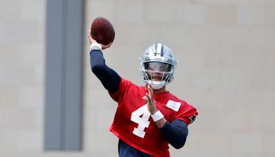 Dak Prescott leaves Cowboys training camp practice with arm soreness