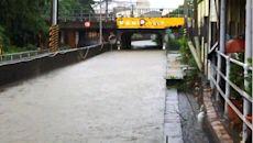 台南淹水地區