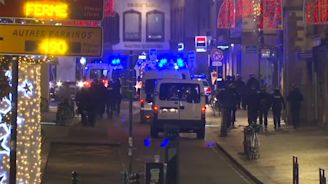 Strasbourg shooting: Terror suspect on the run after killing three and injuring 11 at Christmas market - latest news