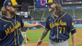 Brewers' Burnes, Hader combine to no-hit Indians in 3-0 win