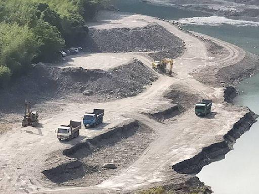 石門水庫水位上升 北水局清淤到最後一刻