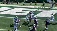 James White displays vision, quickness for shifty 7-yard TD