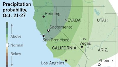Late October rains could dampen wildfires and help with drought, forecasters say