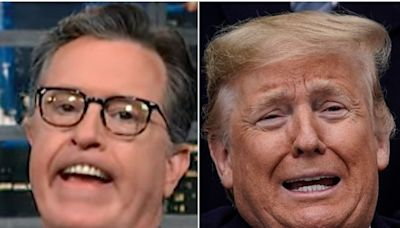 Stephen Colbert Gives Trump A Taste Of What Son Eric Really Thinks About Him