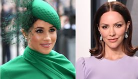 Meghan Markle Is Giving Pregnant Katharine McPhee Baby Tips