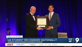 UArizona engineering student named an Astronaut Scholar