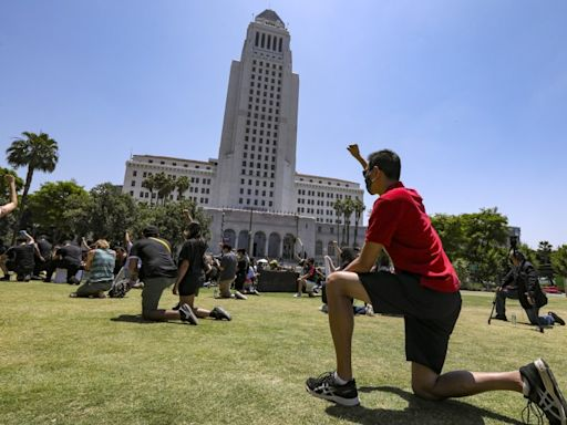 Editorial: L.A.'s mayor race will be a Rorschach test for the city