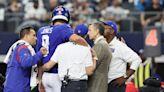 Giants injury report: Daniel Jones, Kenny Golladay sit out