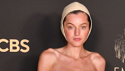 'The Crown' Star Emma Corrin Took a Huge Fashion Risk at the Emmys