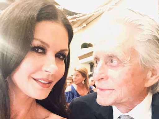 Catherine Zeta-Jones and Michael Douglas Share Joint Birthday Tributes: 'I Just Lucked Out'