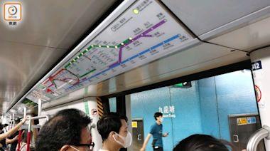 港鐵周五起加強非繁忙時段班次 港島線假日最長6.2分鐘一班