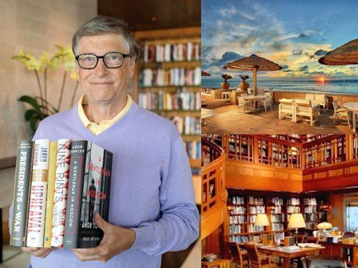 納稅已超過3千億!比爾蓋茲35億豪宅曝光:59坪圖書館、家庭劇院、無敵海景盡收眼底