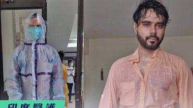【#前線醫護】印度疫情失控 醫生救援15小時後拍下汗水照 籲民眾打疫苗