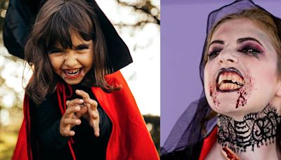 One of Our Favorite Halloween Costume Ideas Is This DIY Vampire