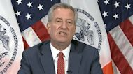 New York City mayor announces public elementary schools to begin reopening