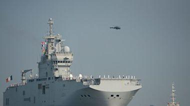 日美法聯合軍演 美九萬噸戰艦或部署南海