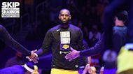 Shannon Sharpe reacts to Kareem Abdul-Jabbar cheering for LeBron James to break his scoring record I UNDISPUTED