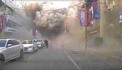 瀋陽市區大爆炸51死傷 老闆娘嘆「今早在店裡,現在醫院」(視頻/圖) - - 新聞 瀋陽 - 看中國新聞網 - 海外華人 歷史秘聞 社會百態