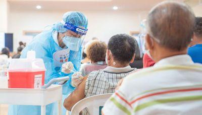 桃75歲第二劑莫德納 58接種站接種