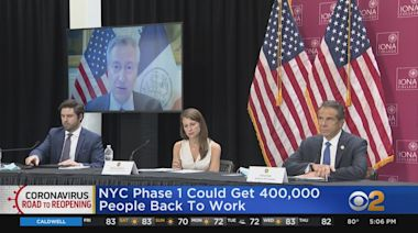 Gov. Andrew Cuomo Says NYC Is On Track To Reopen In Early June
