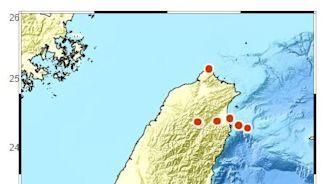 驚!台南7小時連5震 氣象局解惑了