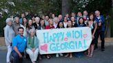 Saratogan celebrates 101st birthday with friends, chocolate