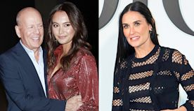 Bruce Willis, Wife Emma & Ex Demi Moore Bond While Celebrating His Daughter's Bday In Quarantine