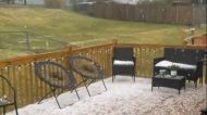 Intense Thunderstorms Bring Hail and High Winds to Des Moines