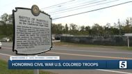 Ceremonies from Nashville to Franklin honor US Colored Troops in TN