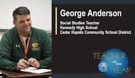 Cedar Rapids teacher is Iowa's Teacher of the Year | 1040 WHO
