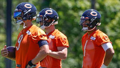 Matt Nagy: Justin Fields, Andy Dalton, Nick Foles all under consideration to start for Bears vs. Lions