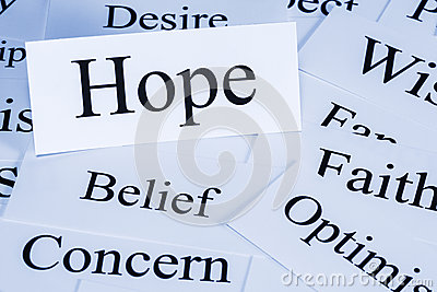 Hope Concept Stock Image - Image: 33978561