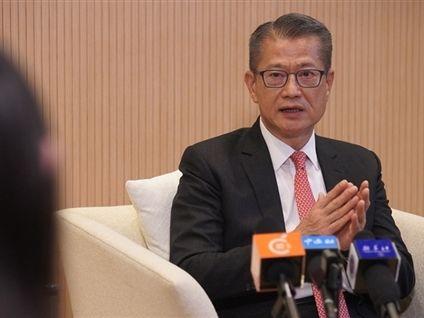 陳茂波:內地與香港須妥善管理潛在風險前提下 持續作出探索和政策創新