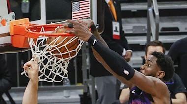 NBA/倒數0.9秒 太陽隊艾頓灌籃逆轉